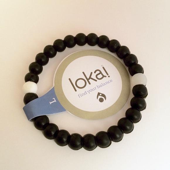 Lokai Jewelry - Black Lokai bracelet (many sizes)